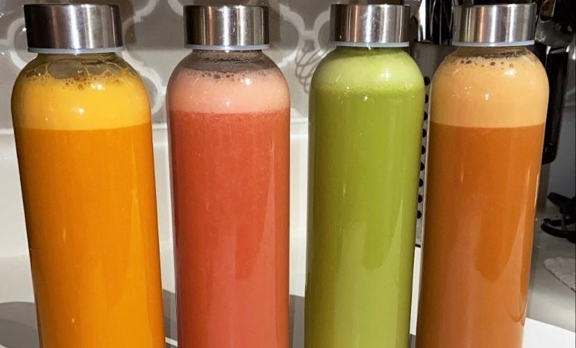 Fresh pressed juiced